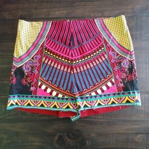 Super cute Flying Tomato shorts size M